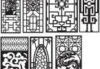 CNC Vector Art Patterns
