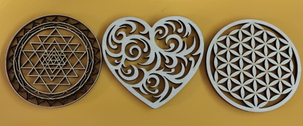 Laser Cut Wood Patterns