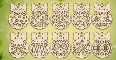 Lasercut Ornament