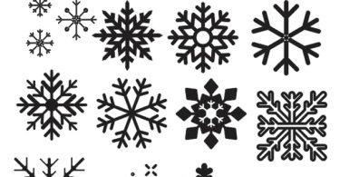 Snowflake dxf file