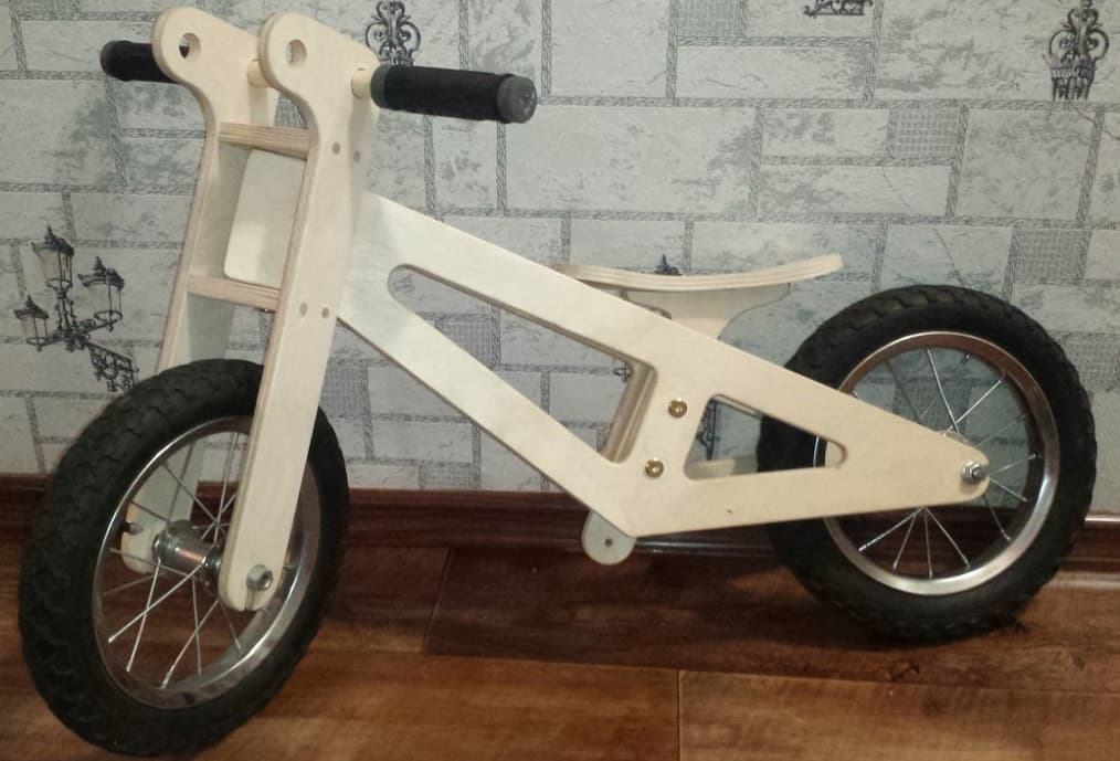 Wooden Balance Bike plans