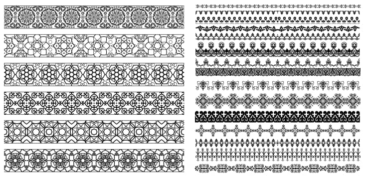 free lace vector